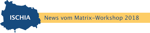 Rubrikbild News vom Matrix-Workshop 2018